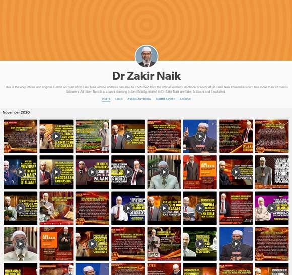 Dr Zakir Naik Tumblr