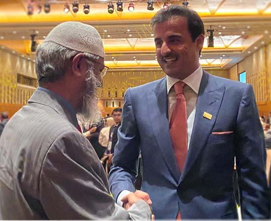 Dr Zakir Naik in Conversation with Shaikh Tamim Bin Hamad Al Thani