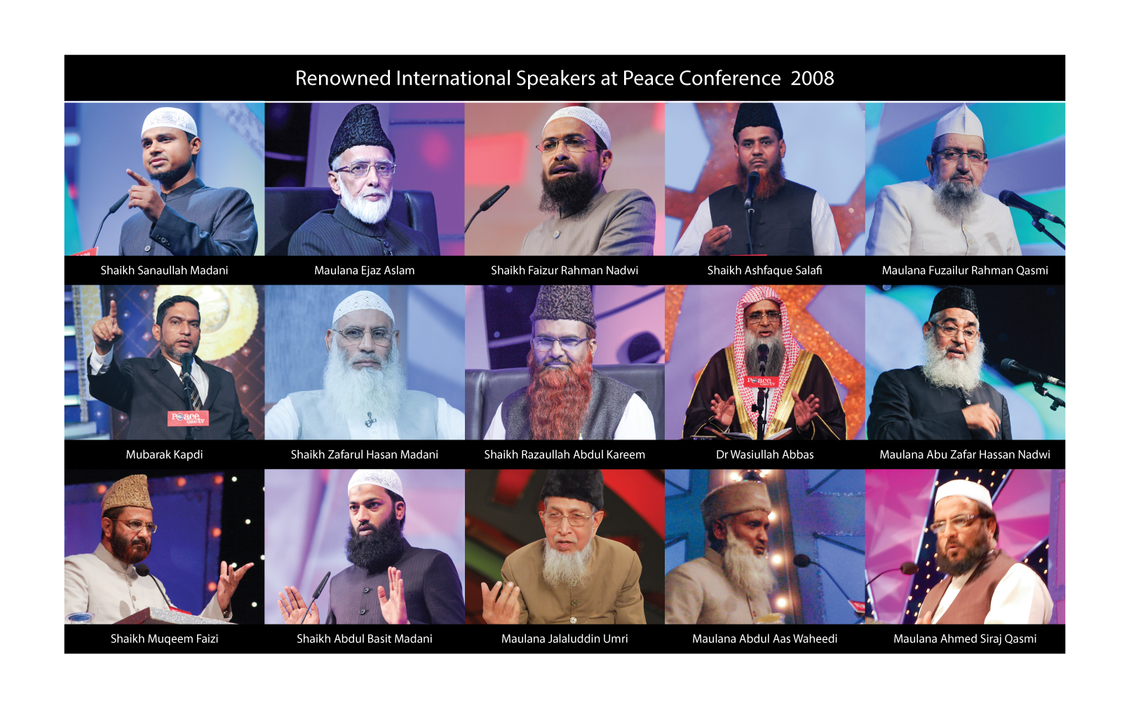 Peace Conference 2008