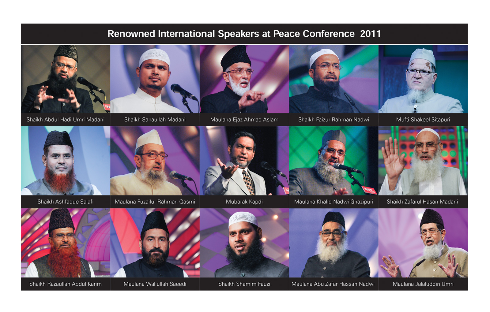 Peace Conference 2011