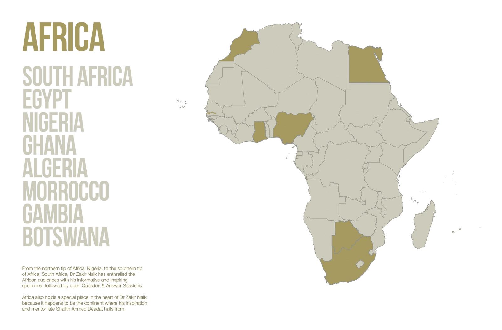 Public Lectures - Africa