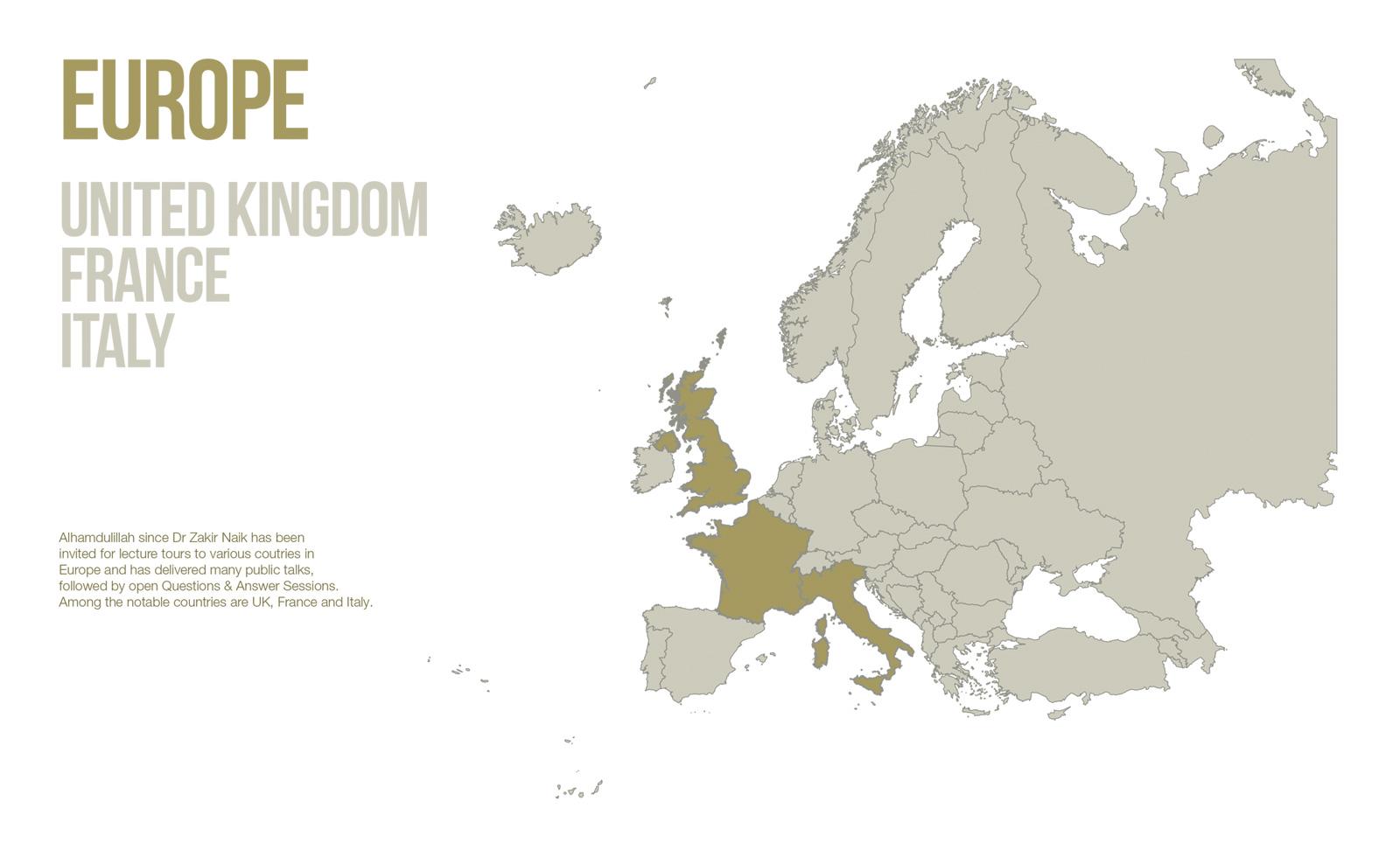 Public Lectures - Europe