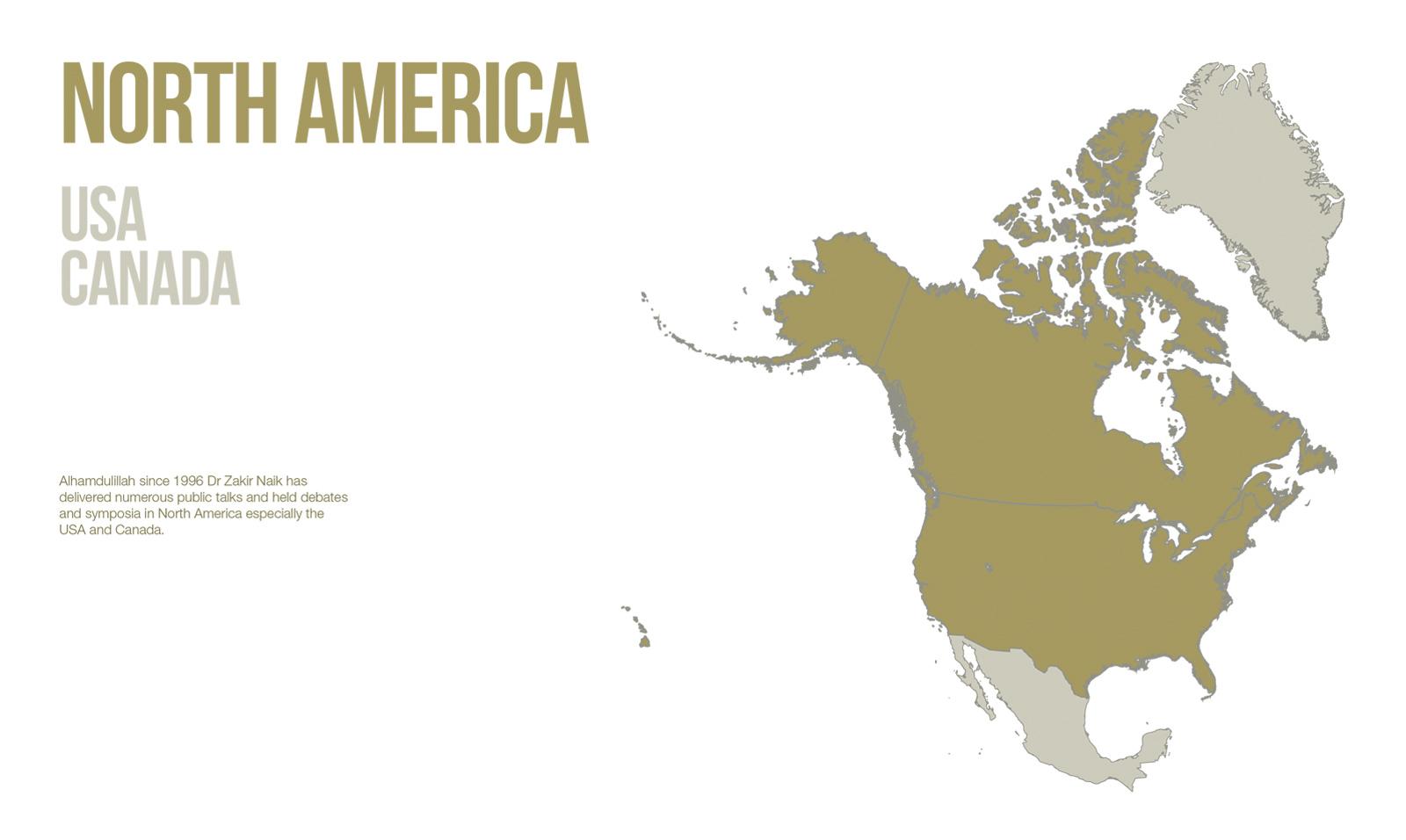 Public Lectures - North America