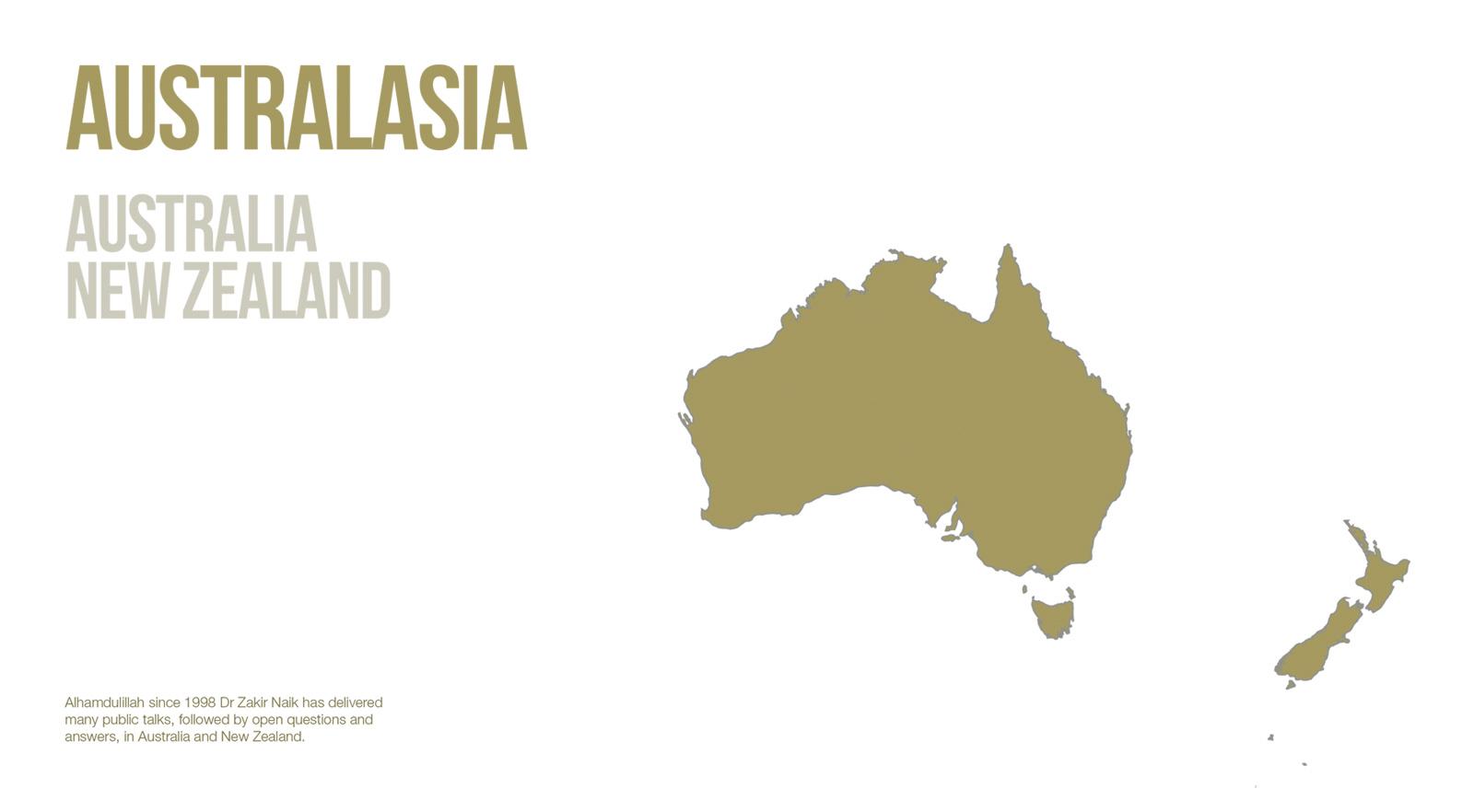 Public Lectures - Australasia